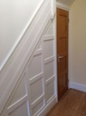 Halway Sindles and Wood Panels or Wainscoting